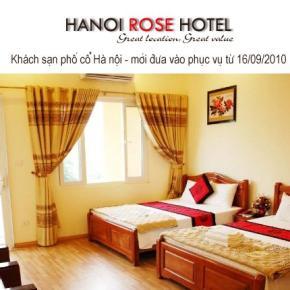 Hostele i Schroniska - Hanoi Rose Hotel