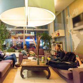 Hostele i Schroniska - wombat's CITY Hostels Vienna – the LOUNGE