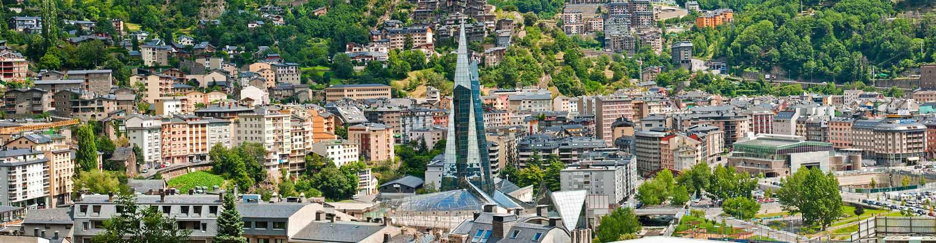 Andorra la Vella - Schroniska Młodzieżowe w mieście Andorra la Vella, Mapy dla miasta Andorra la Vella, Zdjęcia i Recenzje dla każdego Schroniska Młodzieżowego w mieście Andorra la Vella.