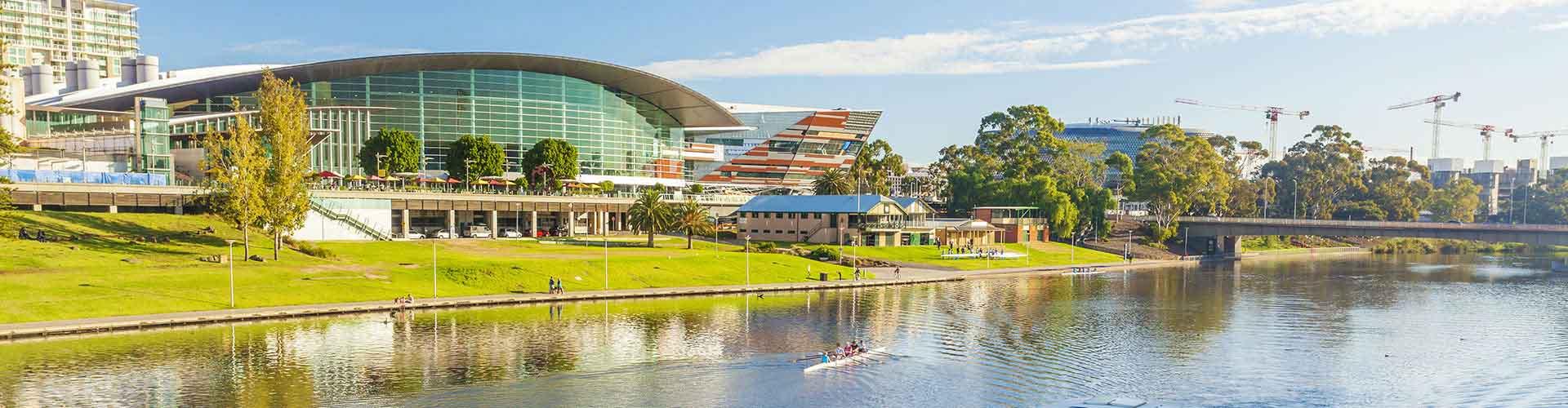 Adelaida - Schroniska młodzieżowe w dzielnicy: Adelaide Central Business District. Mapy dla: Adelaida, Zdjęcia i Recenzje dla każdego Schroniska Młodzieżowego w: Adelaida.