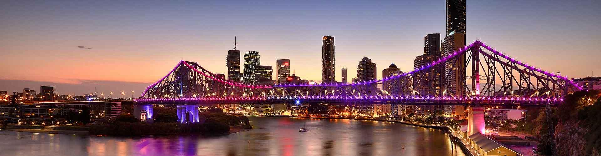 Brisbane - Pokoje w mieście Brisbane, Mapy miasta Brisbane, Zdjęcia i Recenzje dla każdego pokoju w mieście Brisbane.