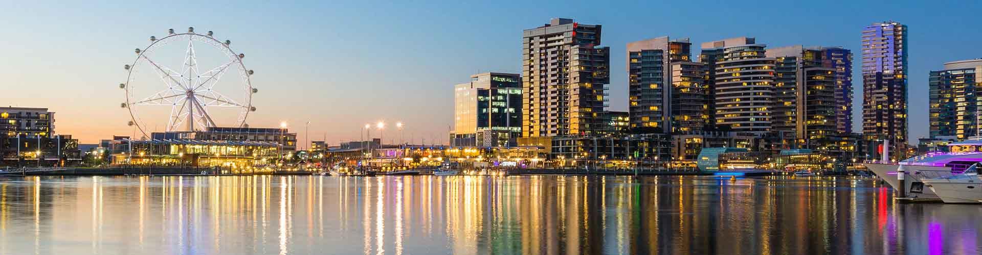 Melbourne - Hostele w mieście: Melbourne, Mapy: Melbourne, Zdjęcia i Recenzje dla każdego hostelu w mieście Melbourne.