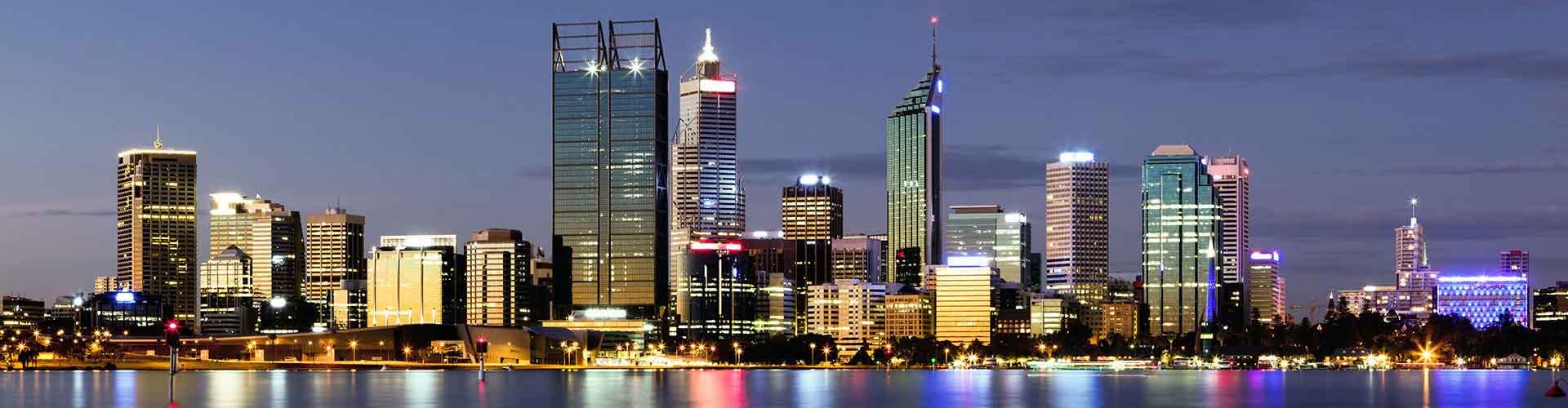 Perth - Pokoje w dzielnicy: Wschodnie Perth, Mapy dzielnicy: Perth, Zdjęcia i Recenzje dla każdego pokoju w dzielnicy: Perth.