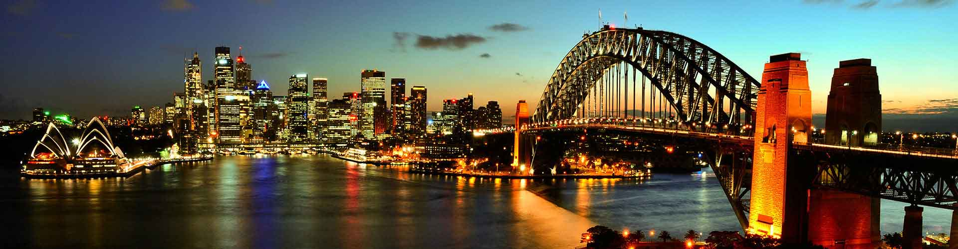 Sydney – Student accommodations, hostels and coworking spaces in Sydney (Australia). Maps of Sydney, photos and reviews for each place in Sydney.
