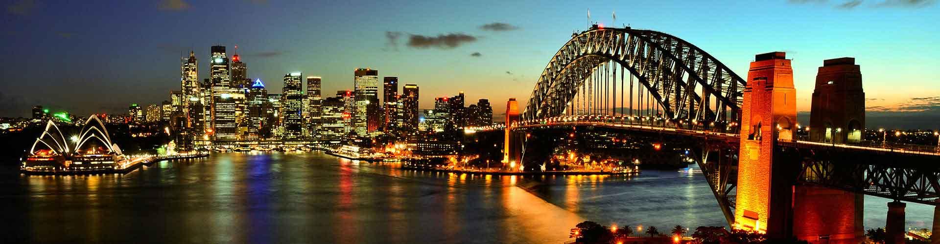 Sydney - Pokoje w mieście Sydney, Mapy miasta Sydney, Zdjęcia i Recenzje dla każdego pokoju w mieście Sydney.