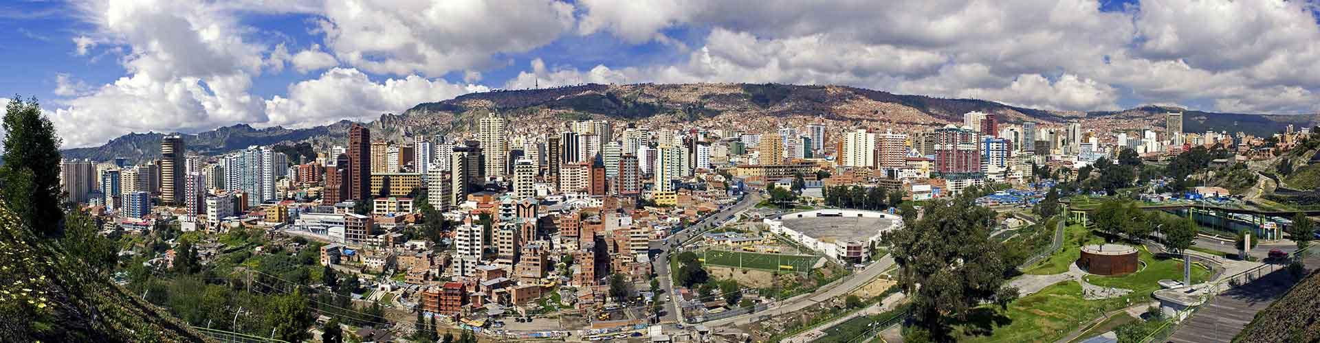 La Paz - Hostele w mieście: La Paz, Mapy: La Paz, Zdjęcia i Recenzje dla każdego hostelu w mieście La Paz.