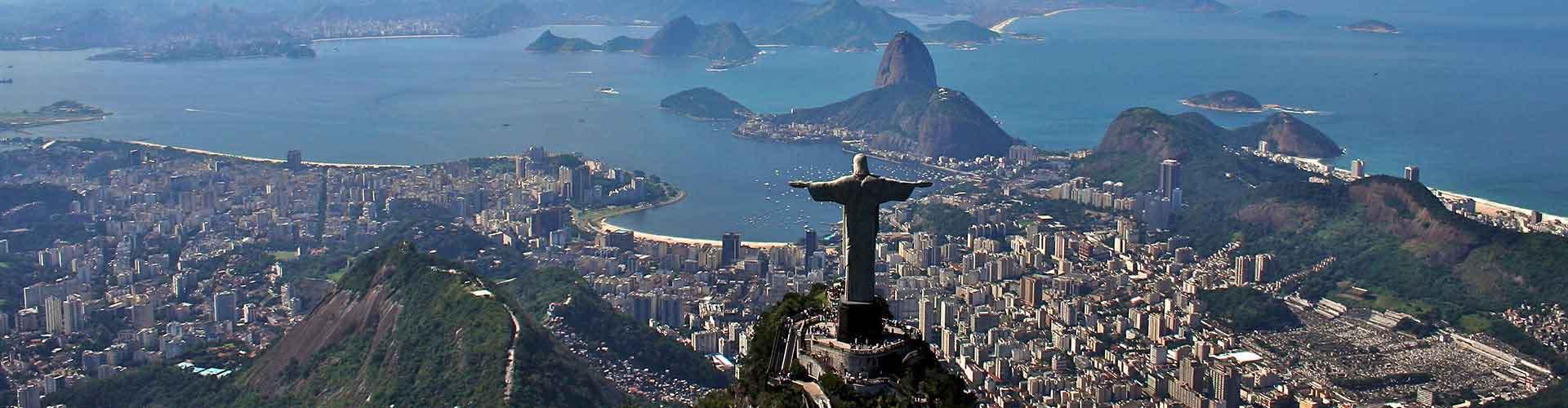 Rio de Janeiro - Hostele w mieście: Rio de Janeiro, Mapy: Rio de Janeiro, Zdjęcia i Recenzje dla każdego hostelu w mieście Rio de Janeiro.