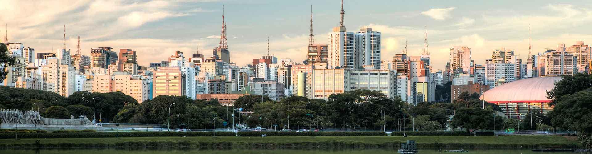 Sao Paulo - Hostele w mieście: Sao Paulo, Mapy: Sao Paulo, Zdjęcia i Recenzje dla każdego hostelu w mieście Sao Paulo.