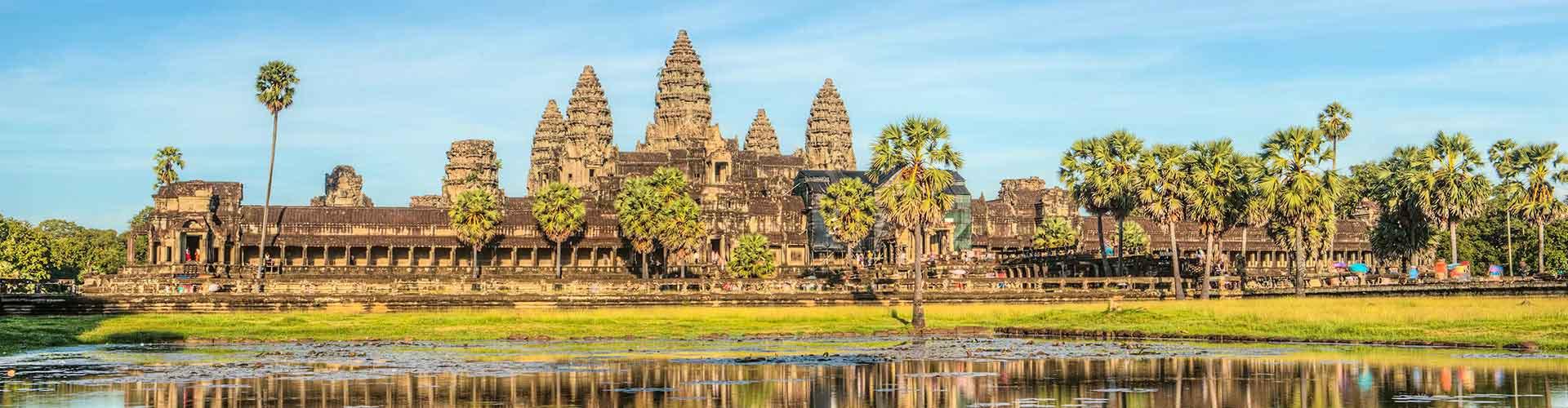 Siem Reap - Hostele w mieście: Siem Reap, Mapy: Siem Reap, Zdjęcia i Recenzje dla każdego hostelu w mieście Siem Reap.