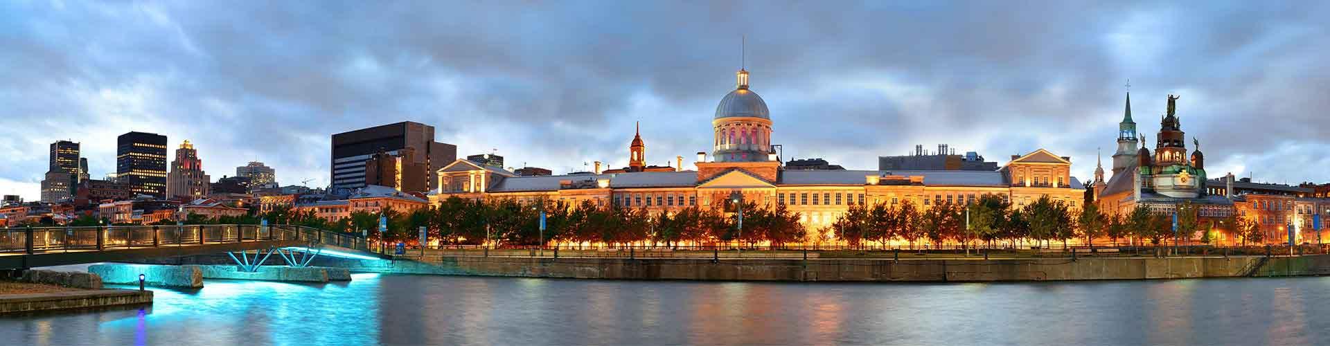 Montreal - Hostele w mieście: Montreal, Mapy: Montreal, Zdjęcia i Recenzje dla każdego hostelu w mieście Montreal.