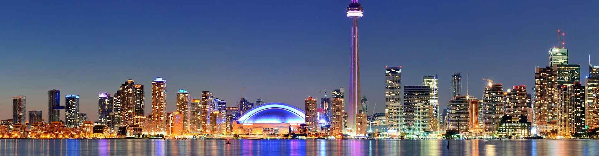 Toronto - Hostele w mieście: Toronto, Mapy: Toronto, Zdjęcia i Recenzje dla każdego hostelu w mieście Toronto.