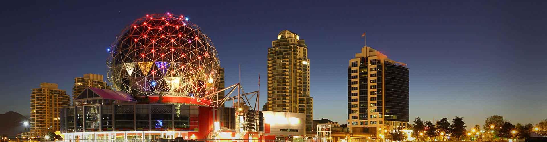 Vancouver - Hostele w mieście: Vancouver, Mapy: Vancouver, Zdjęcia i Recenzje dla każdego hostelu w mieście Vancouver.