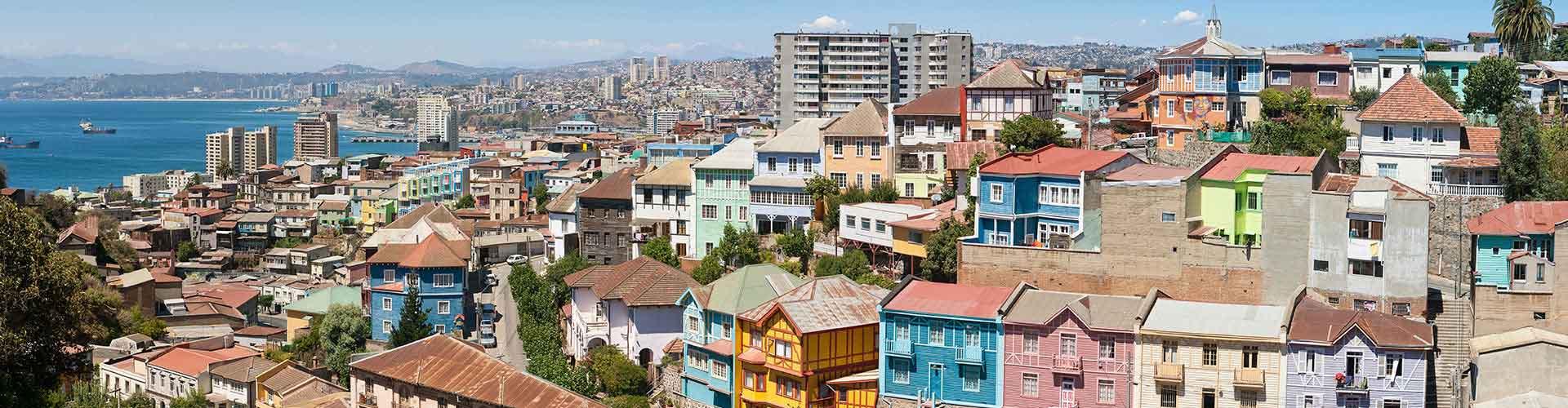 Valparaiso - Hostele w mieście: Valparaiso, Mapy: Valparaiso, Zdjęcia i Recenzje dla każdego hostelu w mieście Valparaiso.
