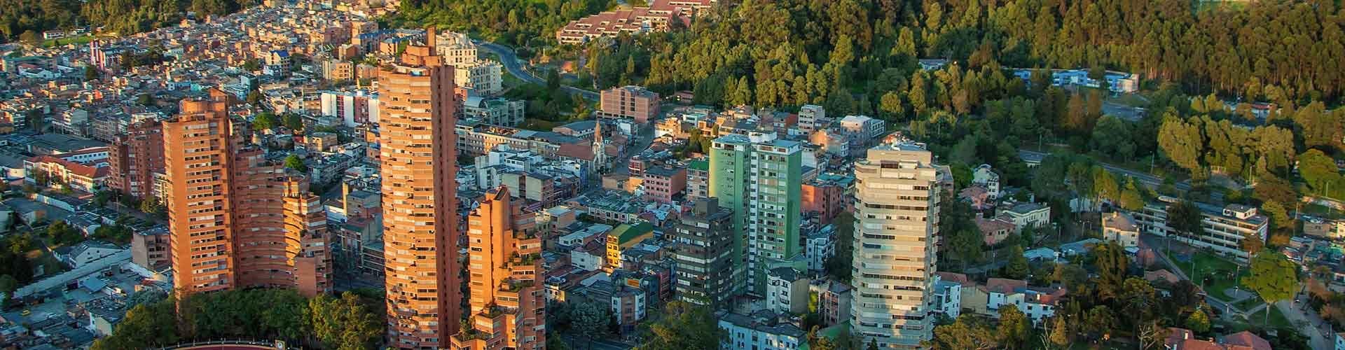 Bogota - Hostele w mieście: Bogota, Mapy: Bogota, Zdjęcia i Recenzje dla każdego hostelu w mieście Bogota.