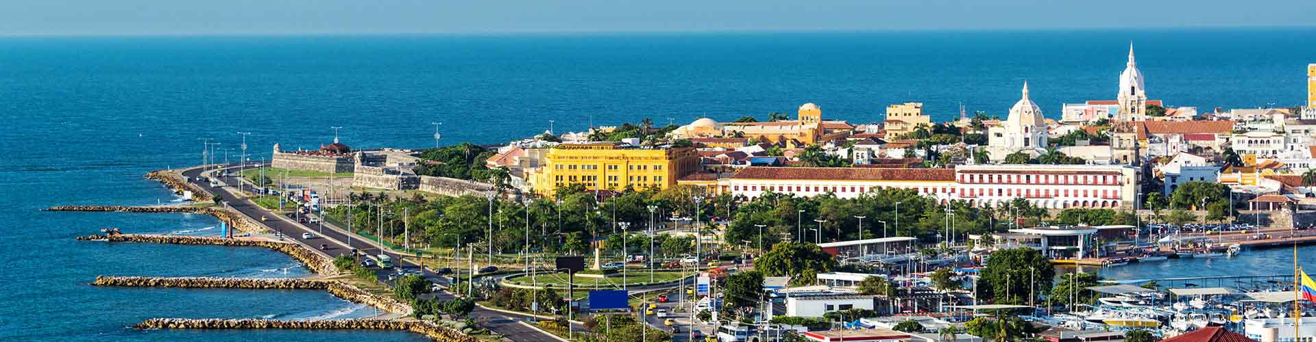 Cartagena de Indias - Hostele w mieście: Cartagena de Indias, Mapy: Cartagena de Indias, Zdjęcia i Recenzje dla każdego hostelu w mieście Cartagena de Indias.