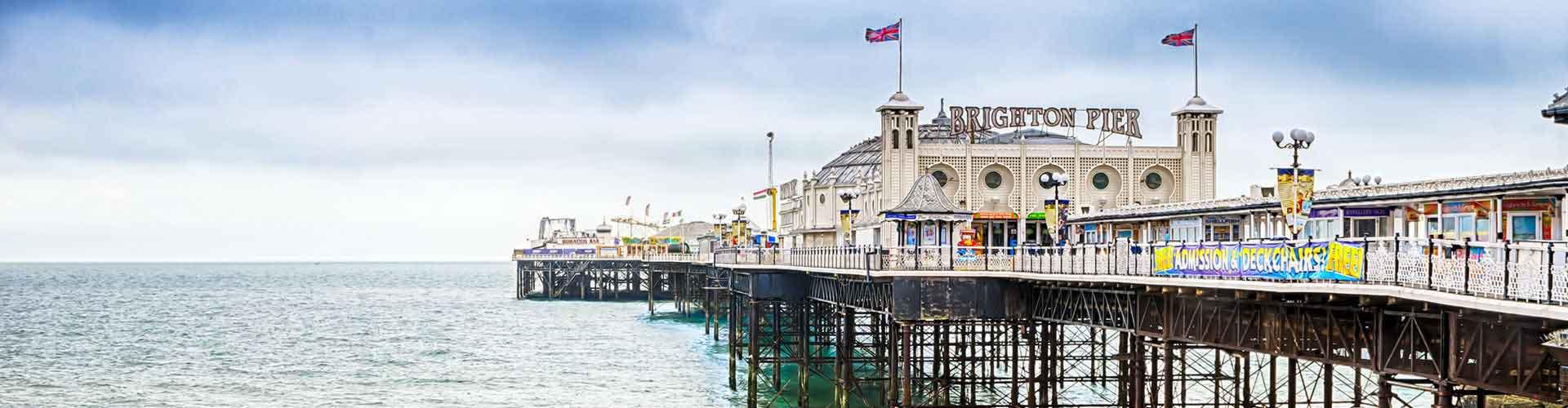 Brighton - Hostele w mieście: Brighton, Mapy: Brighton, Zdjęcia i Recenzje dla każdego hostelu w mieście Brighton.