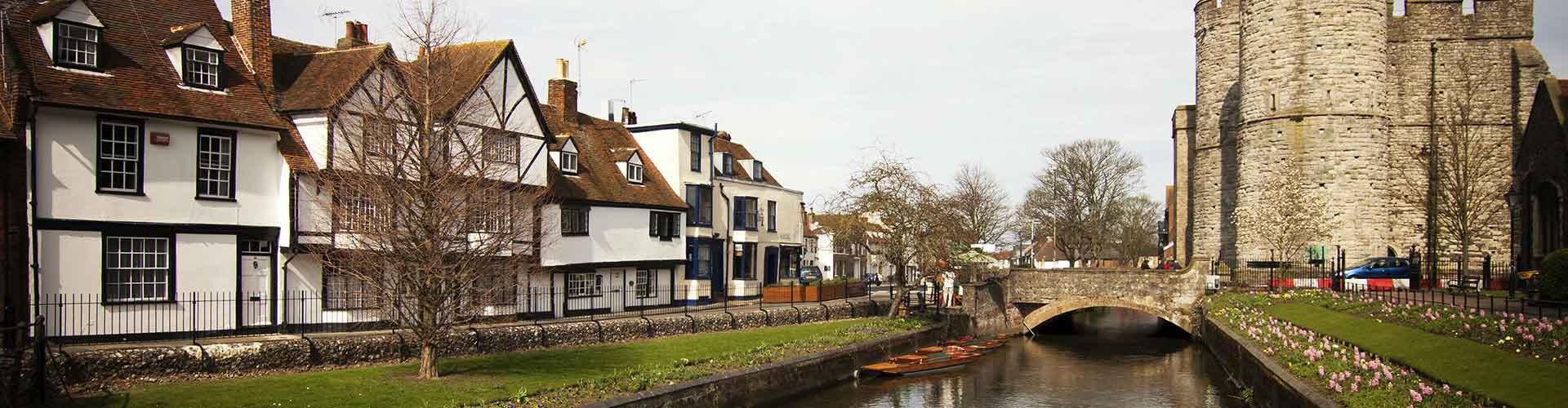Canterbury - Pokoje w mieście Canterbury, Mapy miasta Canterbury, Zdjęcia i Recenzje dla każdego pokoju w mieście Canterbury.