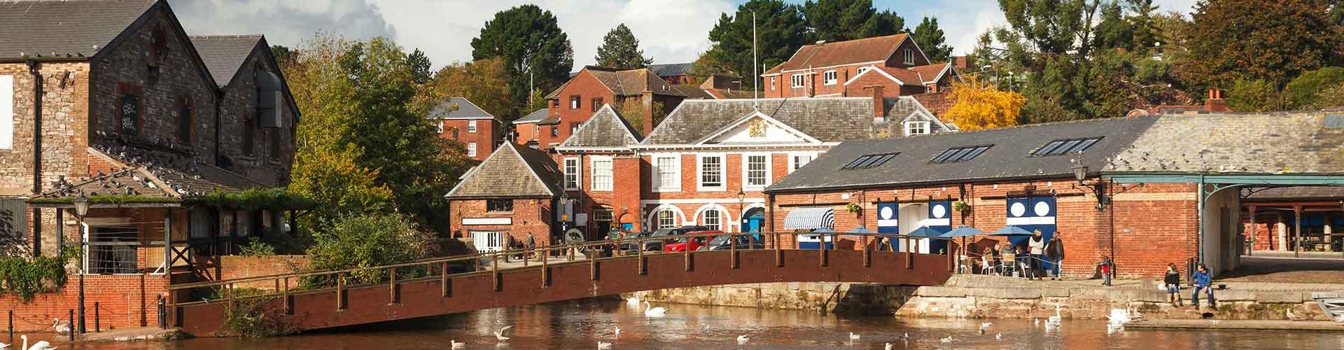 Exeter - Hotele w mieście Exeter, Mapy miasta Exeter, Zdjęcia i Recenzje dla każdego Hotelu w mieście Exeter.
