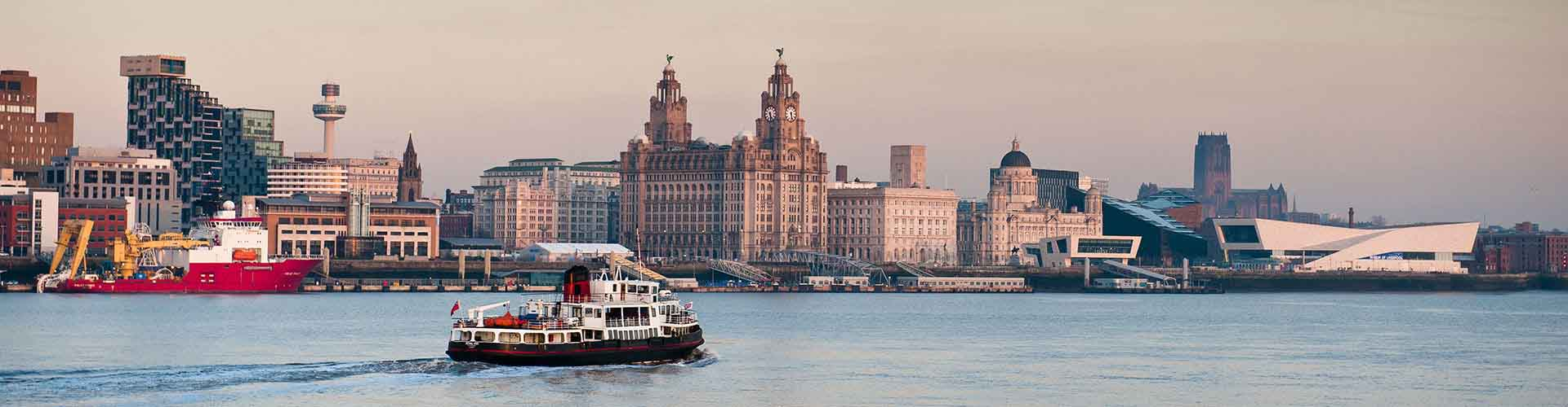 Liverpool - Apartamenty w mieście Liverpool, Mapy miasta Liverpool, Zdjęcia i Recenzje dla każdego Apartamentu w mieście Liverpool.