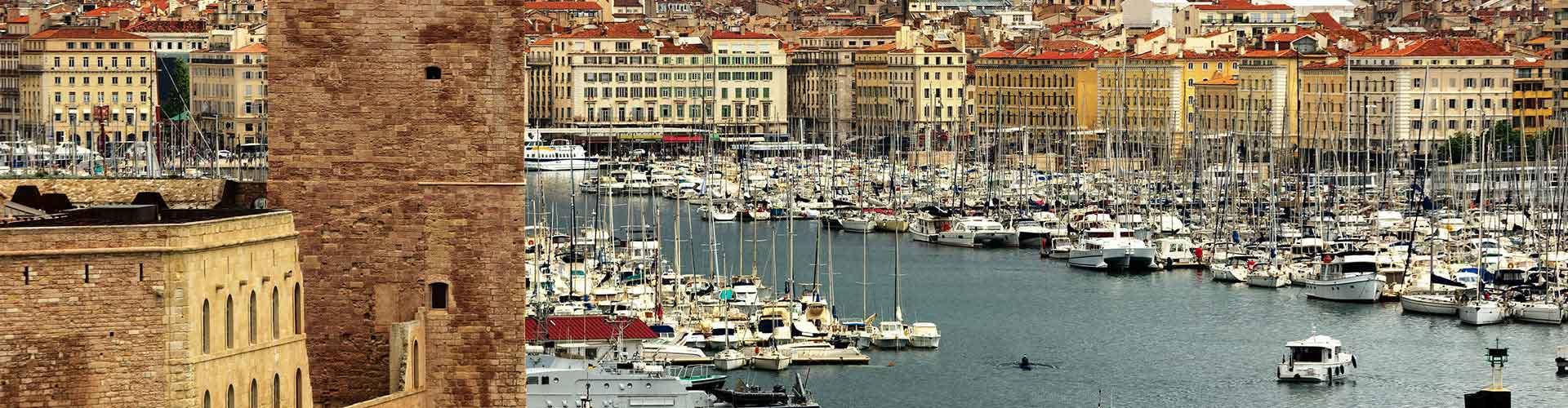 Marsylia - Hostele w mieście: Marsylia, Mapy: Marsylia, Zdjęcia i Recenzje dla każdego hostelu w mieście Marsylia.