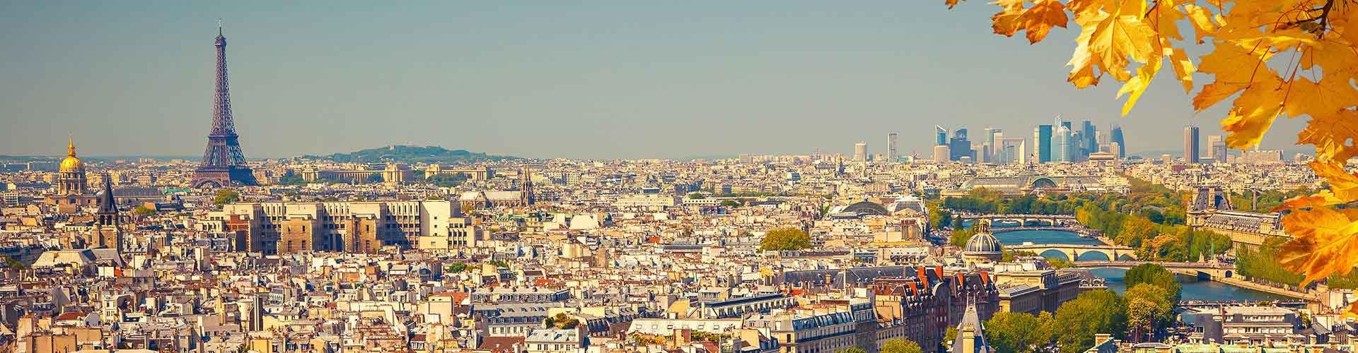 Paryż - Hostele w mieście: Paryż, Mapy: Paryż, Zdjęcia i Recenzje dla każdego hostelu w mieście Paryż.