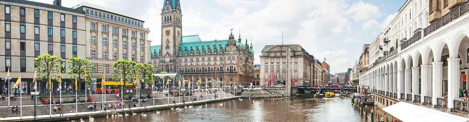 Hamburg - Hostele w mieście: Hamburg, Mapy: Hamburg, Zdjęcia i Recenzje dla każdego hostelu w mieście Hamburg.