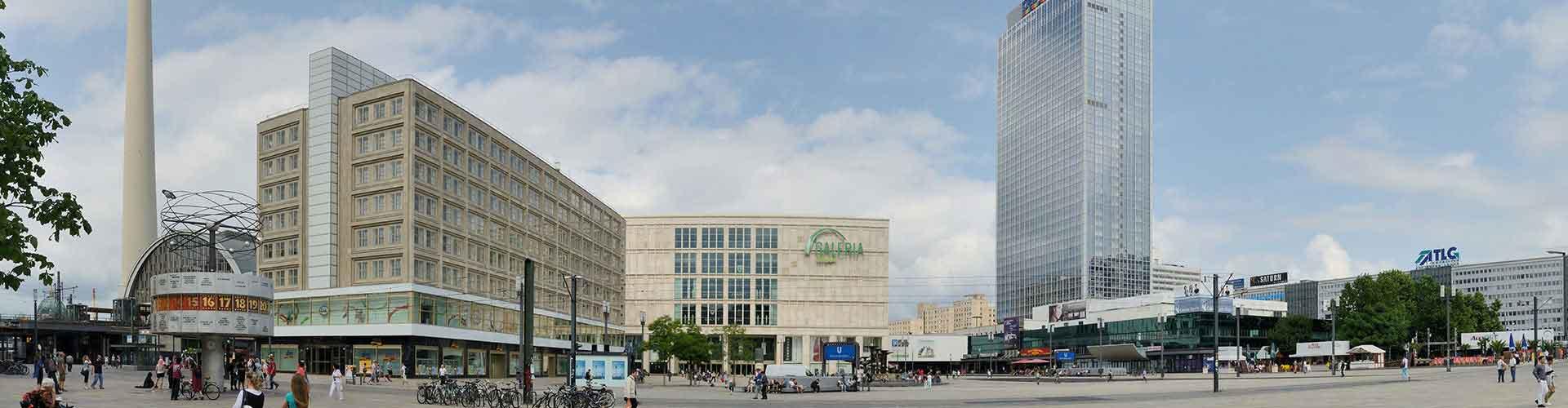 Berlin - Hostele w pobliżu: Alexanderplatz. Mapy: Berlin, Zdjęcia i Recenzje dla każdego hostelu w mieście: Berlin.