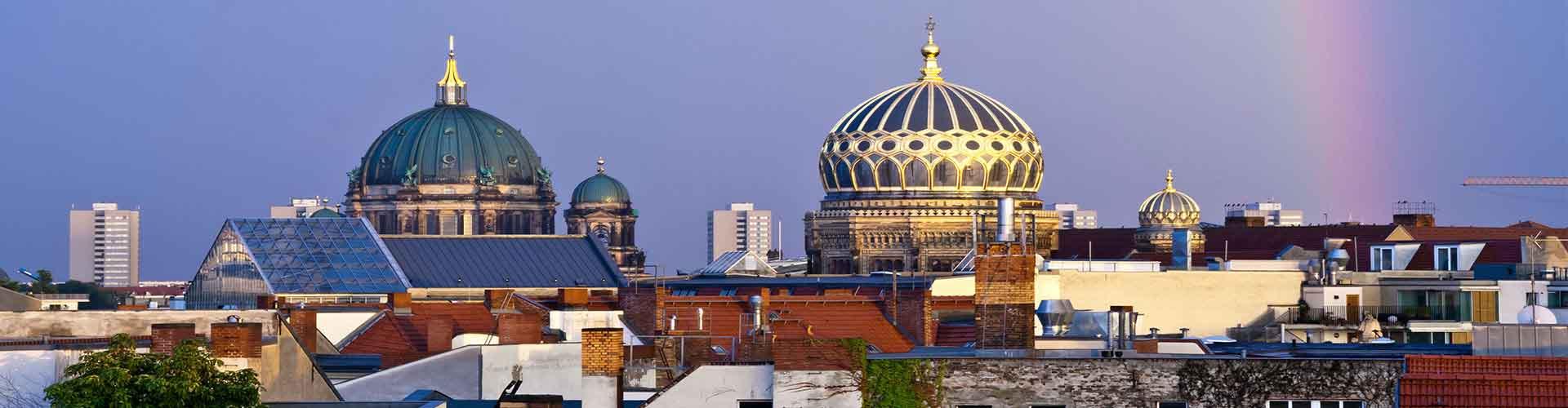 Berlin - Hostele w pobliżu: Nowa Synagoga. Mapy: Berlin, Zdjęcia i Recenzje dla każdego hostelu w mieście: Berlin.