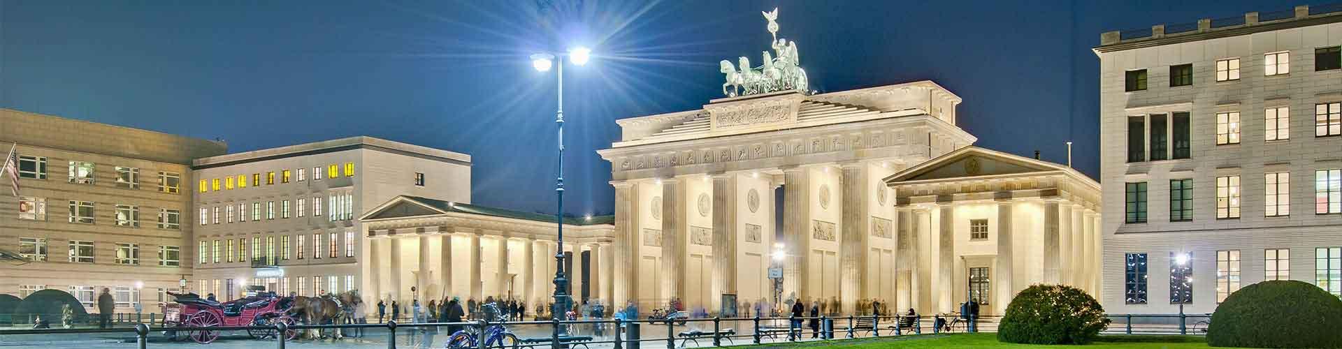 Berlin - Hostele w pobliżu: Pariser Platz. Mapy: Berlin, Zdjęcia i Recenzje dla każdego hostelu w mieście: Berlin.