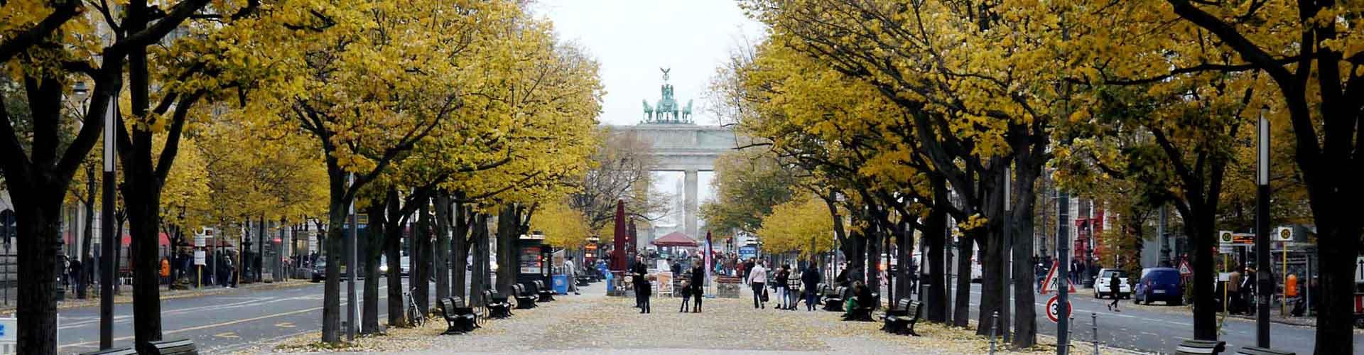 Berlin - Hostele w pobliżu: Unter den Linden. Mapy: Berlin, Zdjęcia i Recenzje dla każdego hostelu w mieście: Berlin.