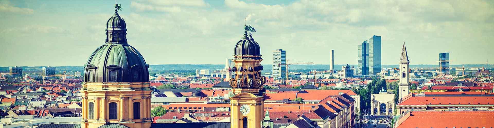 Monachium - Hostele w mieście: Monachium, Mapy: Monachium, Zdjęcia i Recenzje dla każdego hostelu w mieście Monachium.