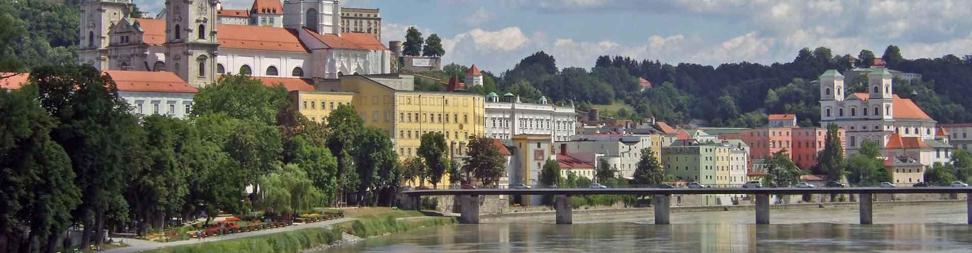 Passau - Hostele w mieście: Passau, Mapy: Passau, Zdjęcia i Recenzje dla każdego hostelu w mieście Passau.