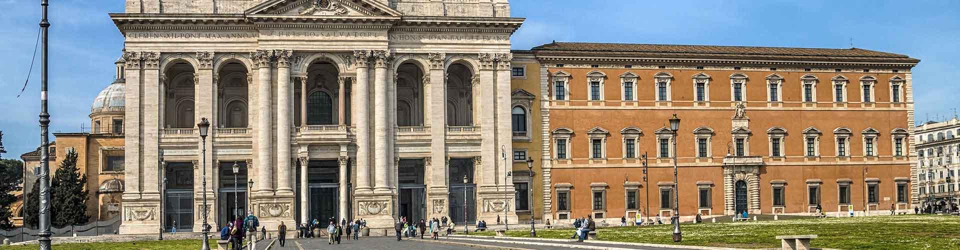 Rzym - Hostele w dzielnicy: San Giovanni. Mapy: Rzym, Zdjęcia i Recenzje dla hosteli w mieście: Rzym.