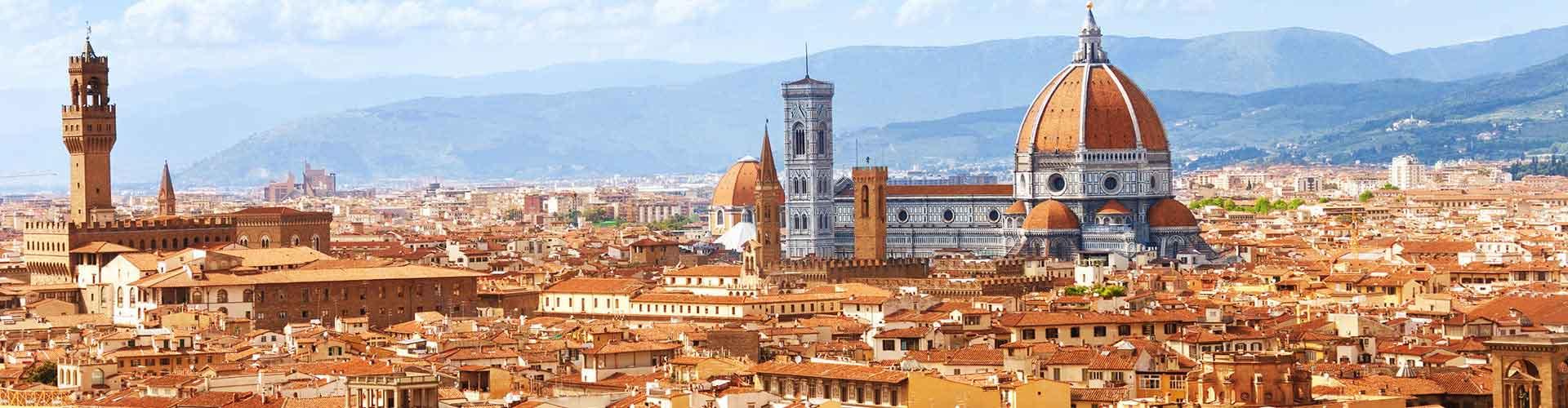Florencja - Hostele w pobliżu: Lotnisko Peretola. Mapy: Florencja, Zdjęcia i Recenzje dla każdego hostelu w mieście: Florencja.