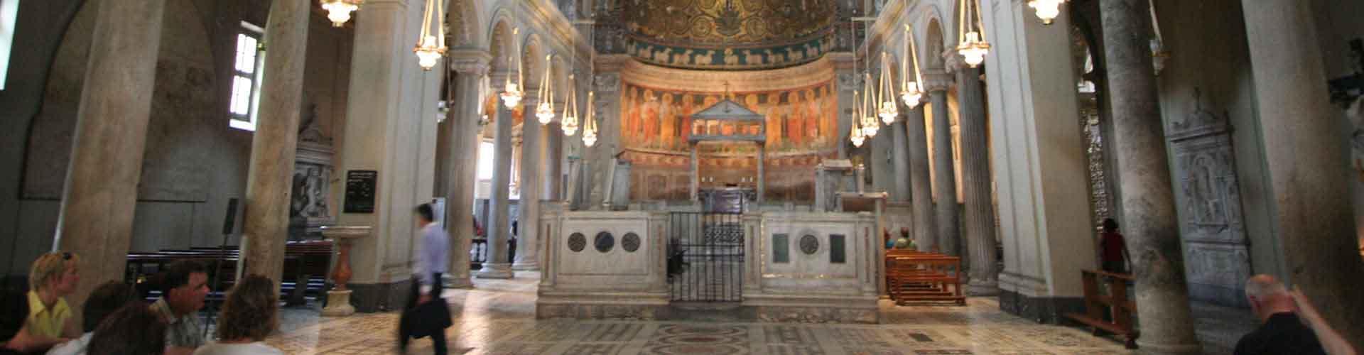 Rzym - Hostele w pobliżu: Bazylika di San Clemente. Mapy: Rzym, Zdjęcia i Recenzje dla każdego hostelu w mieście: Rzym.