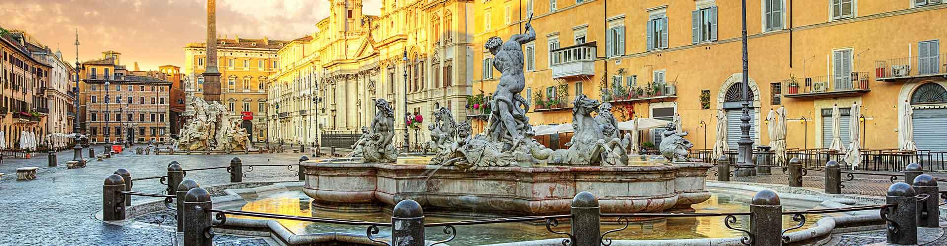 Rzym - Hostele w pobliżu: Piazza Navona. Mapy: Rzym, Zdjęcia i Recenzje dla każdego hostelu w mieście: Rzym.