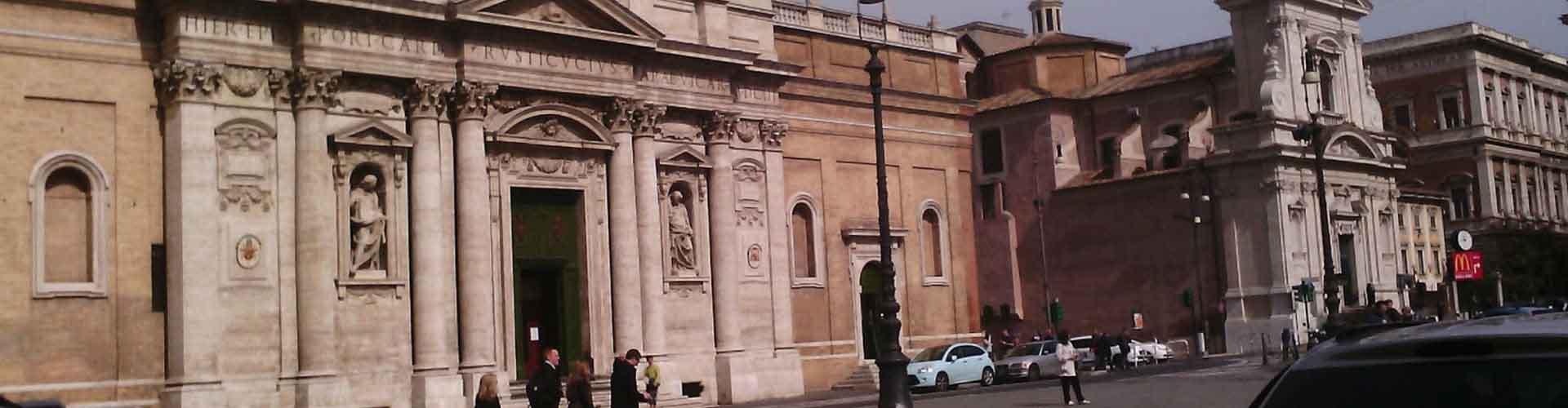 Rzym - Hostele w pobliżu: Santa Maria della Vittoria. Mapy: Rzym, Zdjęcia i Recenzje dla każdego hostelu w mieście: Rzym.
