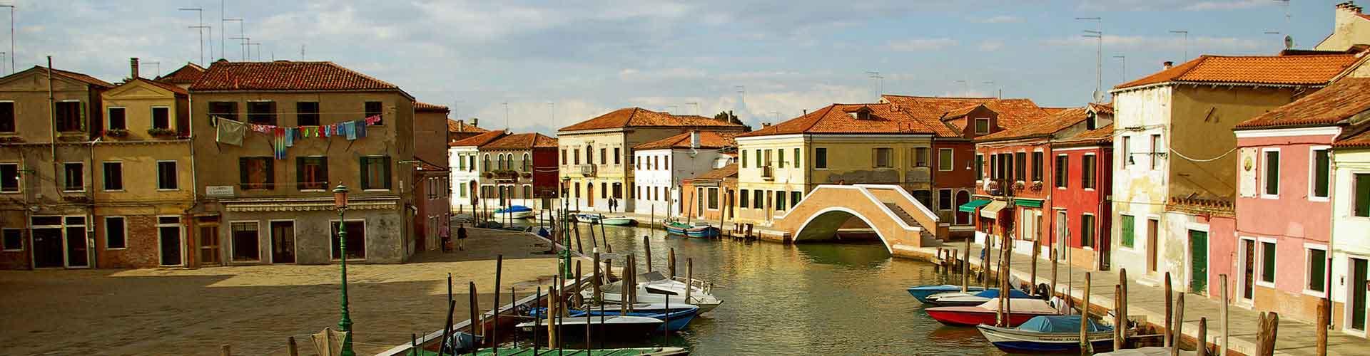 Wenecja Mestre - Hostele w pobliżu: Lotnisko Wenecja Marco Polo. Mapy: Wenecja Mestre, Zdjęcia i Recenzje dla każdego hostelu w mieście: Wenecja Mestre.