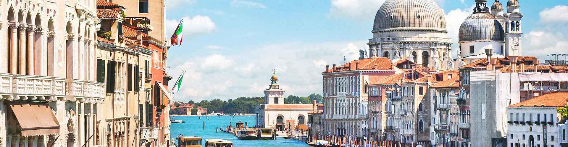 Wenecja - Hostele w mieście: Wenecja, Mapy: Wenecja, Zdjęcia i Recenzje dla każdego hostelu w mieście Wenecja.