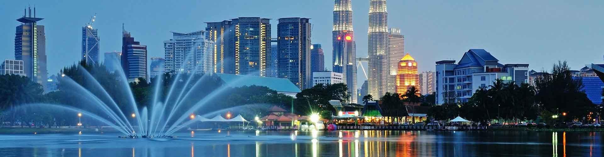 Kuala Lumpur - Hostele w mieście: Kuala Lumpur, Mapy: Kuala Lumpur, Zdjęcia i Recenzje dla każdego hostelu w mieście Kuala Lumpur.