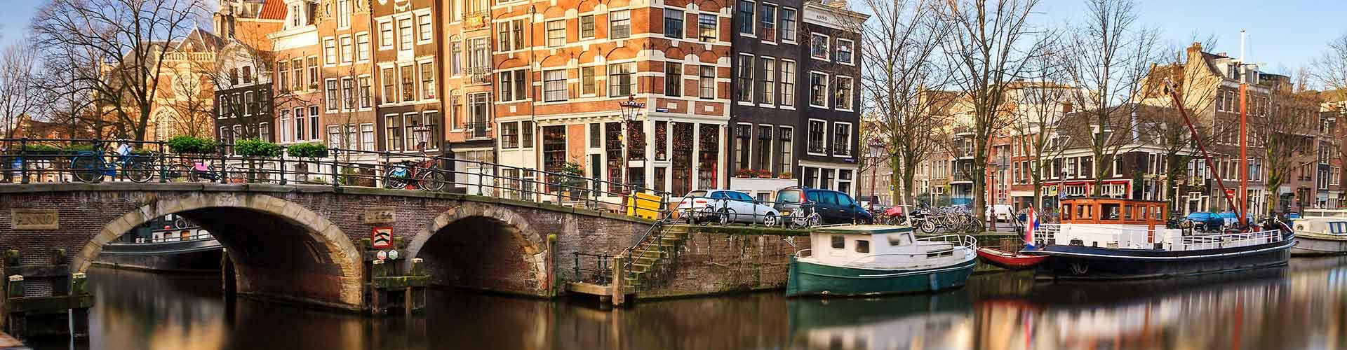 Amsterdam - Hostele w mieście: Amsterdam, Mapy: Amsterdam, Zdjęcia i Recenzje dla każdego hostelu w mieście Amsterdam.