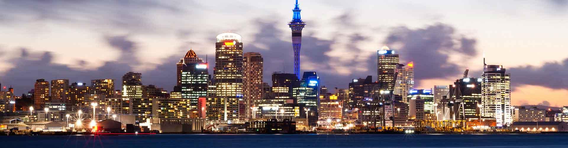 Auckland - Hostele w mieście: Auckland, Mapy: Auckland, Zdjęcia i Recenzje dla każdego hostelu w mieście Auckland.