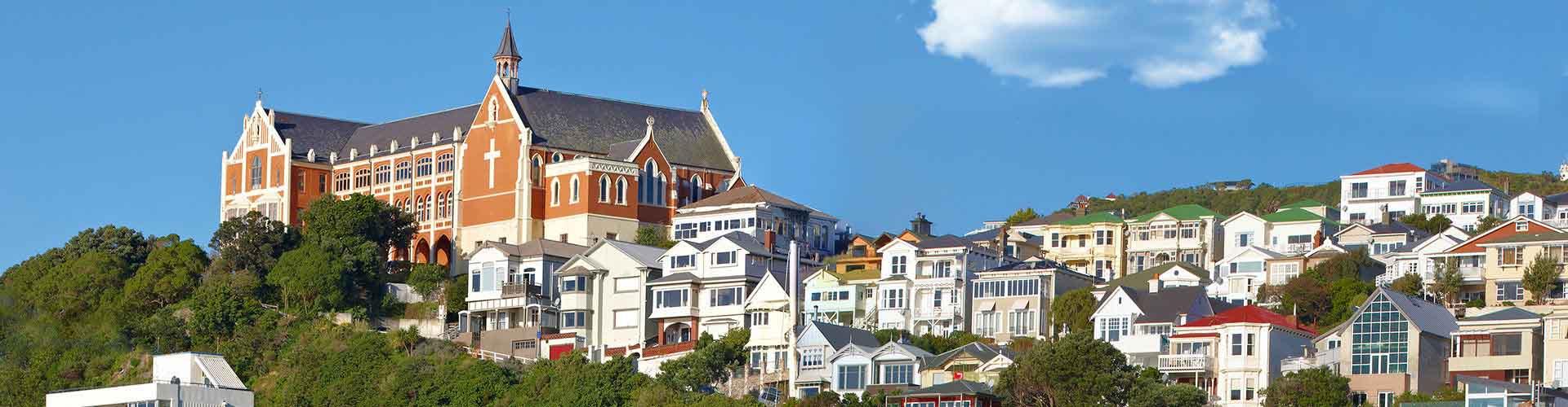 Wellington - Hostele w mieście: Wellington, Mapy: Wellington, Zdjęcia i Recenzje dla każdego hostelu w mieście Wellington.