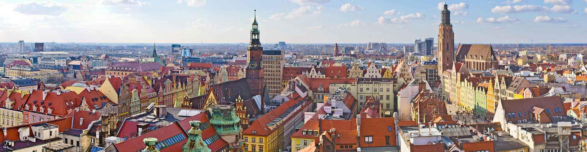 Wrocław - Hostele w mieście: Wrocław, Mapy: Wrocław, Zdjęcia i Recenzje dla każdego hostelu w mieście Wrocław.