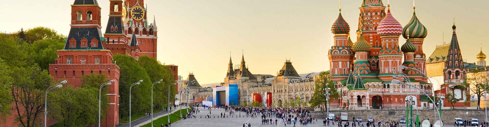 Moskwa - Hostele w mieście: Moskwa, Mapy: Moskwa, Zdjęcia i Recenzje dla każdego hostelu w mieście Moskwa.