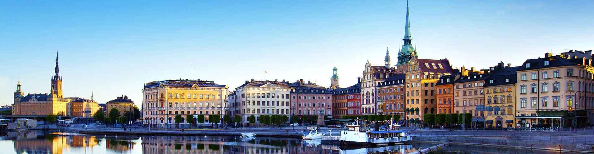 Sztokholm - Hostele w mieście: Sztokholm, Mapy: Sztokholm, Zdjęcia i Recenzje dla każdego hostelu w mieście Sztokholm.