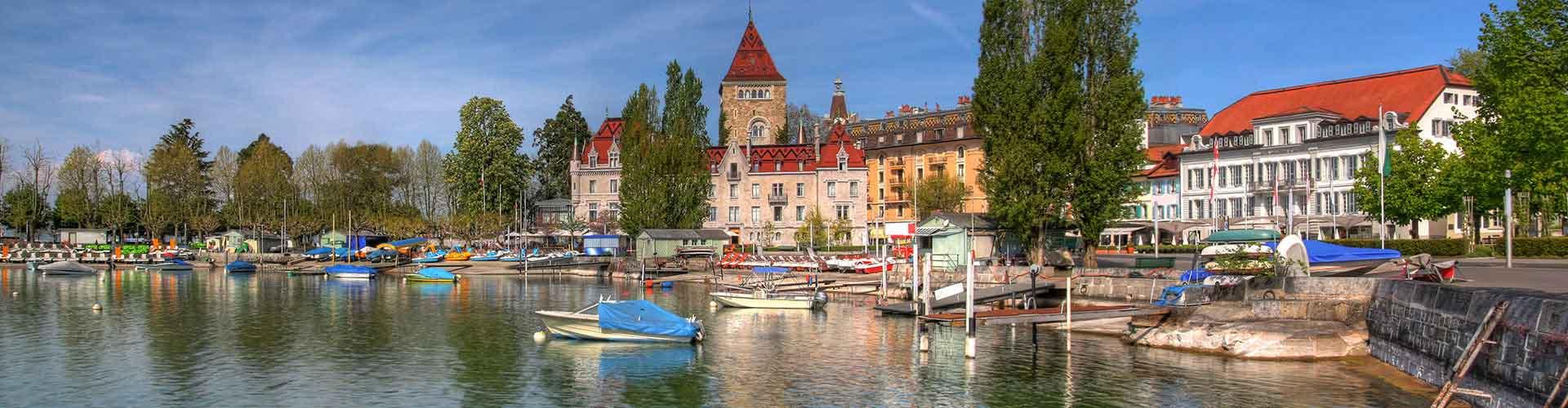 Lozanna - Hostele w mieście: Lozanna, Mapy: Lozanna, Zdjęcia i Recenzje dla każdego hostelu w mieście Lozanna.