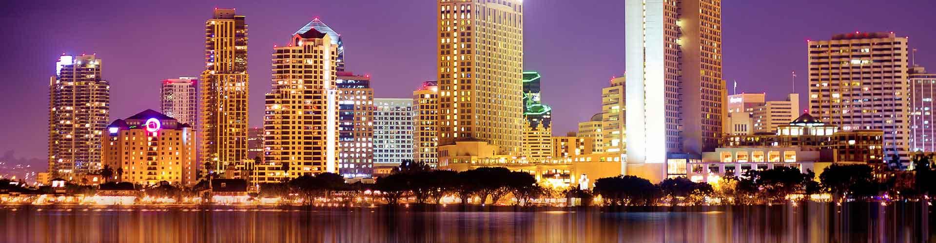 San Diego - Hostele w mieście: San Diego, Mapy: San Diego, Zdjęcia i Recenzje dla każdego hostelu w mieście San Diego.