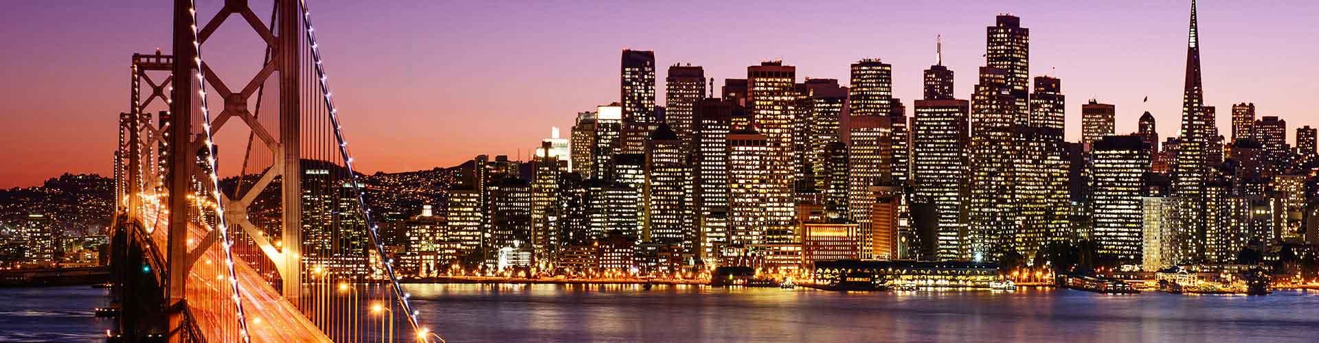 San Francisco - Hostele w mieście: San Francisco, Mapy: San Francisco, Zdjęcia i Recenzje dla każdego hostelu w mieście San Francisco.