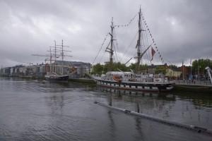 Festival maritime à Dublin